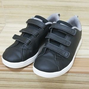 Adidas black sneakers. Size 1.5